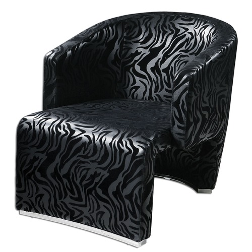 Uttermost Lighting Uttermost Yareli Zebra Accent Chair 23139