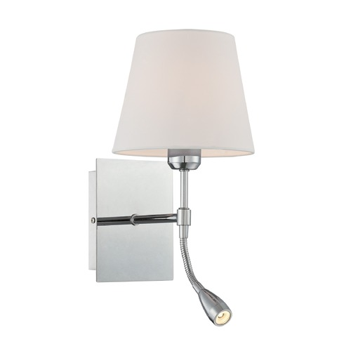 Lite Source Lighting Lite Source Mitali Chrome Wall Lamp LS-16588
