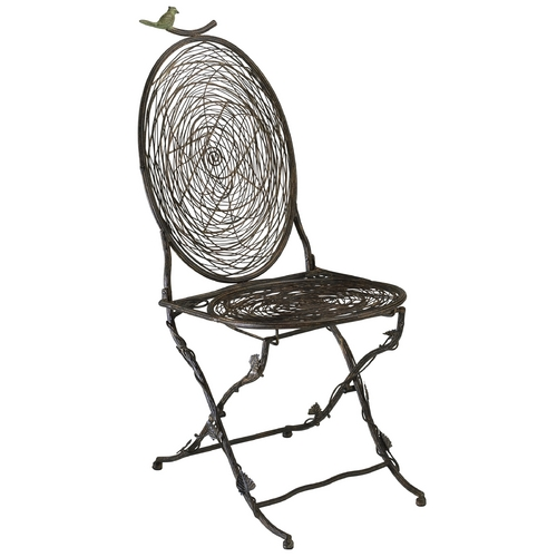 Cyan Design Cyan Design Bird Muted Rust Chair 01560