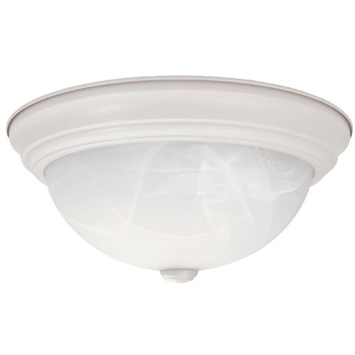 Capital Lighting Capital Lighting Matte White Flushmount Light 2713MW