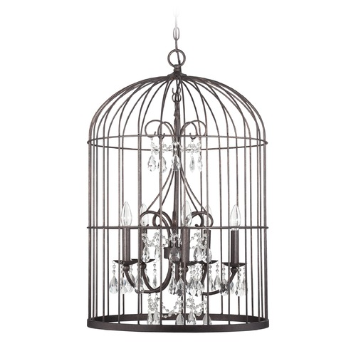 Jeremiah Lighting Jeremiah Lighting Ivybridge Valencian Iron Pendant Light 38423-VI