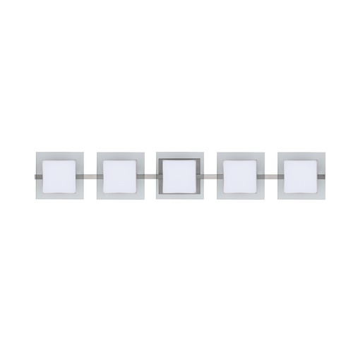Besa Lighting Besa Lighting Alex Satin Nickel LED Bathroom Light 5WS-773539-LED-SN