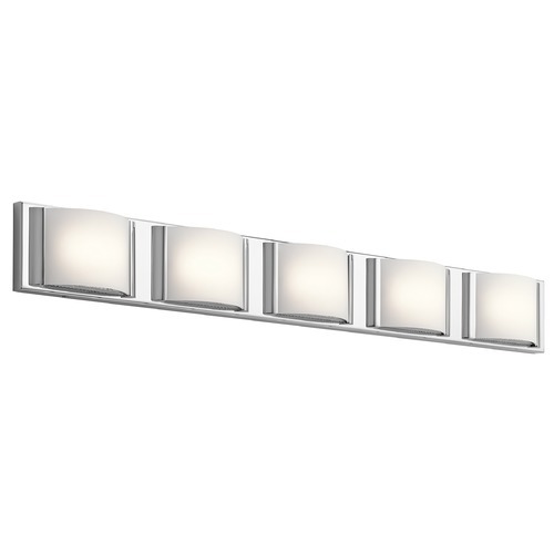 Elan Lighting Elan Lighting Bretto Chrome LED Bathroom Light 83823