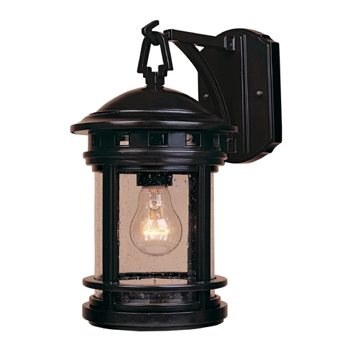 Designers Fountain Lighting Seeded Glass Outdoor Wall Light Oil Rubbed Bronze Designers Fountain Lighting 2371-ORB