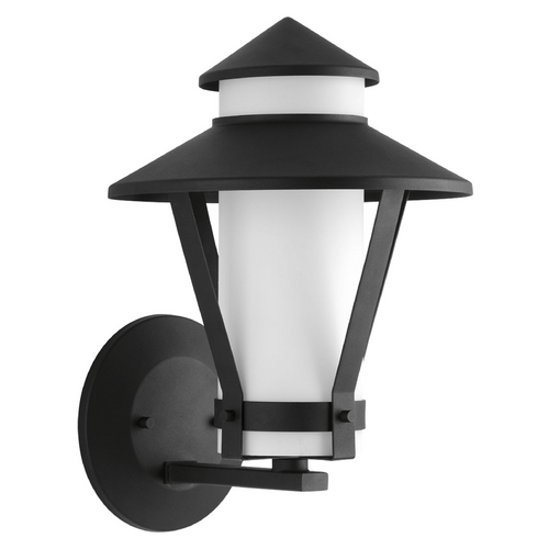 Progress Lighting Progress Lighting Via Black Outdoor Wall Light P6011-31