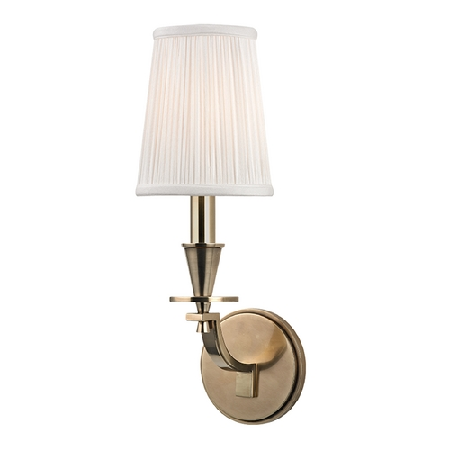 Hudson Valley Lighting Hudson Valley Lighting Avalon Aged Brass Sconce 6211-AGB
