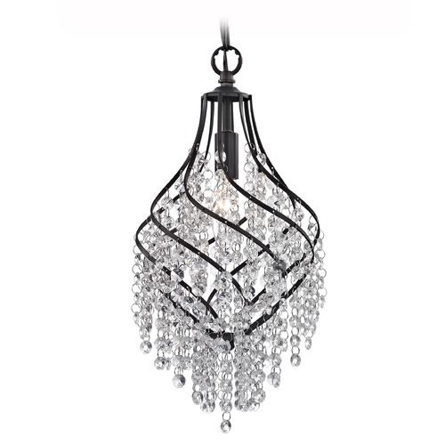 Sterling Lighting Crystal Drop Pendant 122-018