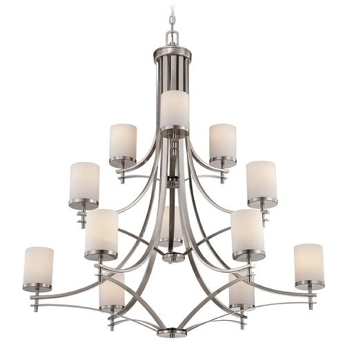 Savoy House Savoy House Satin Nickel Chandelier 1-332-12-SN