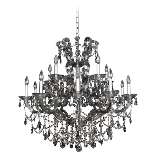 Allegri Lighting Brahms 15 Light Crystal Chandelier 023451-010-FR006