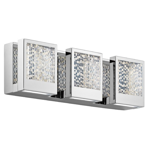 Elan Lighting Elan Lighting Pandora Chrome LED Bathroom Light 83726