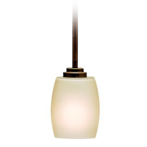 Kichler Lighting Kichler Lighting Eileen Olde Bronze Mini-Pendant Light with Bowl / Dome Shade 3497OZ
