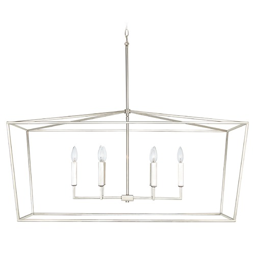 Capital Lighting Capital Lighting Thea 6-Light Polished Nickel Island Light 837661PN