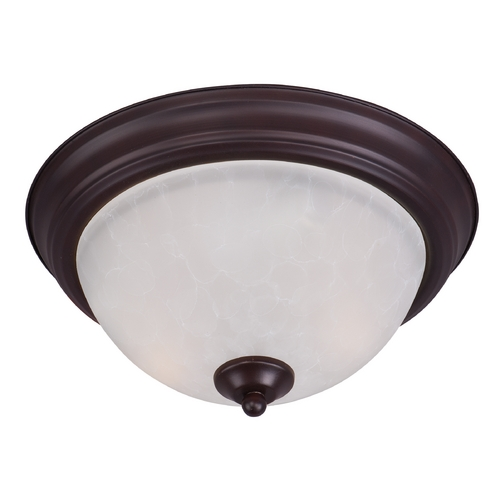 Maxim Lighting Maxim Lighting Essentials Oil Rubbed Bronze Flushmount Light 5840ICOI