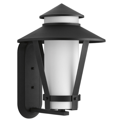 Progress Lighting Progress Lighting Via Black Outdoor Wall Light P6012-31