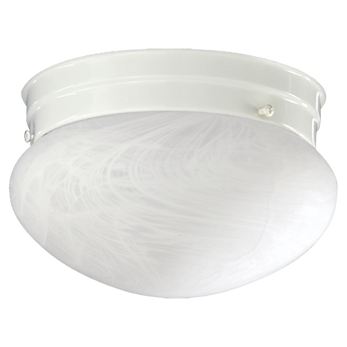 Quorum Lighting Quorum Lighting White Flushmount Light 3021-8-6