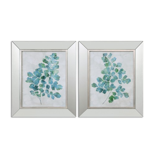 Uttermost Lighting Uttermost Spring Leaves Framed Art, Set of 2 41538