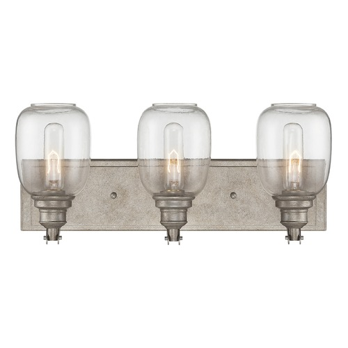 Savoy House Savoy House Industrial Steel Bathroom Light 8-4334-2-27