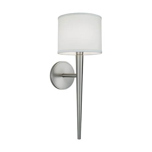 Norwell Lighting Norwell Lighting Angelica Brush Nickel Sconce 8220-BN-WL