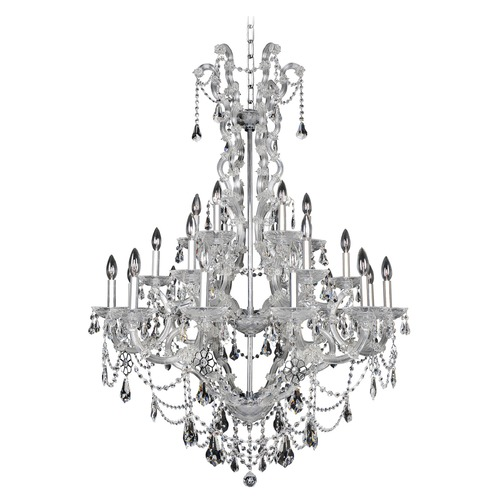 Allegri Lighting Brahms 24 Light Crystal Chandelier 023452-010-FR001