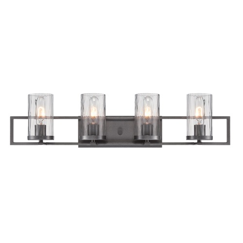Designers Fountain Lighting Designers Fountain Elements Charcoal Bathroom Light 86504-CHA