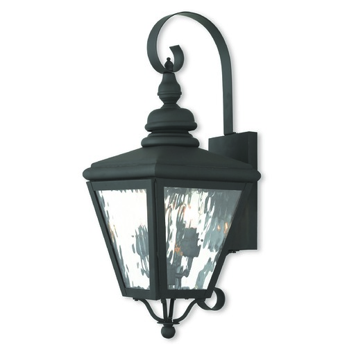 Livex Lighting Livex Lighting Cambridge Black Outdoor Wall Light 2031-04