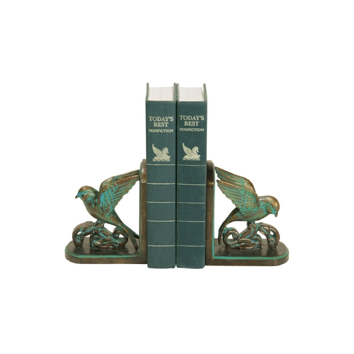 Sterling Lighting Decorative Bird Bookends 91-4747