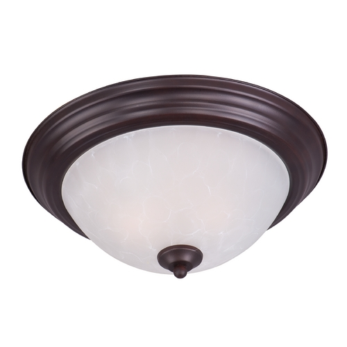 Maxim Lighting Maxim Lighting Essentials Oil Rubbed Bronze Flushmount Light 5841ICOI