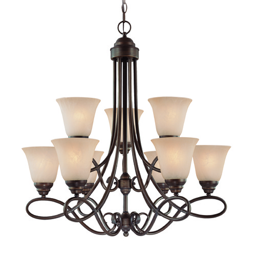 Craftmade Lighting Craftmade Cordova Old Bronze Chandelier 25029-OB