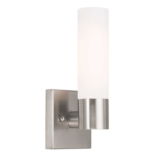 Livex Lighting Livex Lighting Aero Brushed Nickel Sconce 10101-91