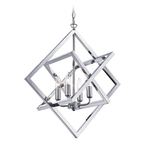 Lite Source Lighting Lite Source Isidro Chrome Pendant Light LS-19889