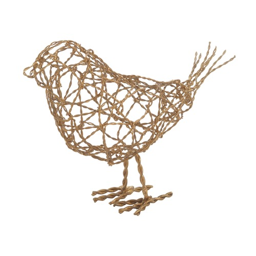 Dimond Home Brass Scribble Bird - Large 559009