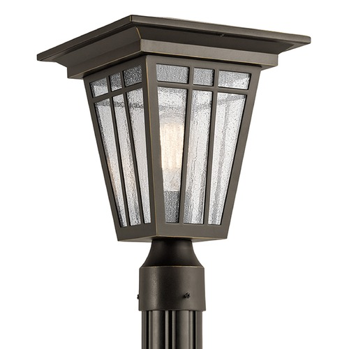 Kichler Lighting Kichler Lighting Woodhollow Lane Post Light 49677OZ
