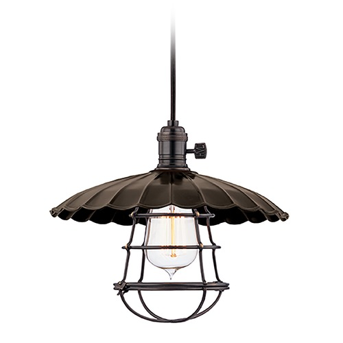 Hudson Valley Lighting Mini-Pendant Light 8001-OB-MS3-WG