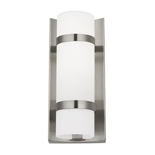 Design Classics Lighting Satin Nickel Indoor / Outdoor Wall Light 117-09