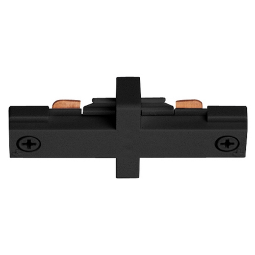Juno Lighting Group Juno Trac-Lites Small Black Straight Connector R23 BL