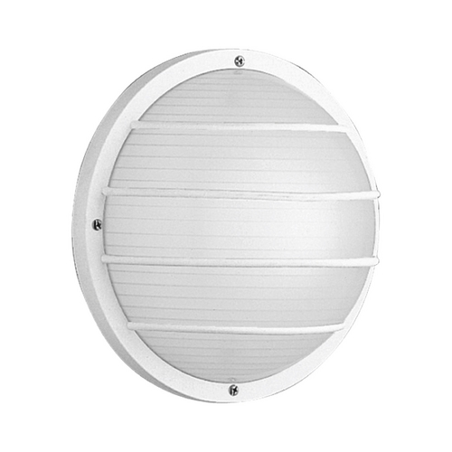 Progress Lighting Progress Outdoor Wall Light with White in White Finish P5703-30