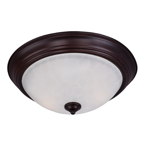 Maxim Lighting Maxim Lighting Essentials Oil Rubbed Bronze Flushmount Light 5842ICOI