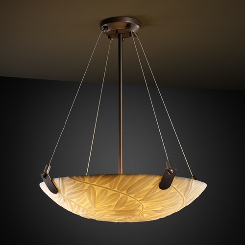 Justice Design Group Justice Design Group Porcelina Collection Pendant Light PNA-9621-35-BMBO-DBRZ
