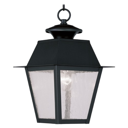 Livex Lighting Livex Lighting Monterey Black Outdoor Hanging Light 2152-04
