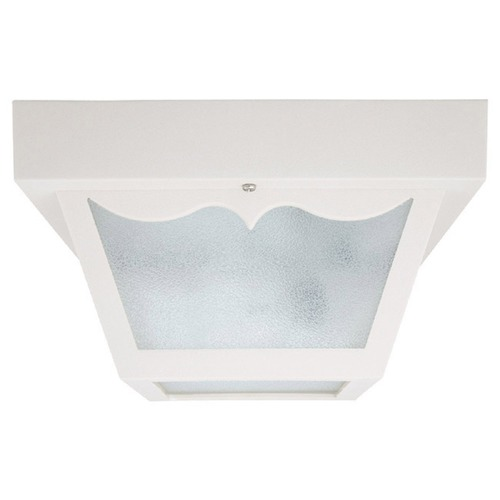 Capital Lighting Capital Lighting White Close To Ceiling Light 9239WH