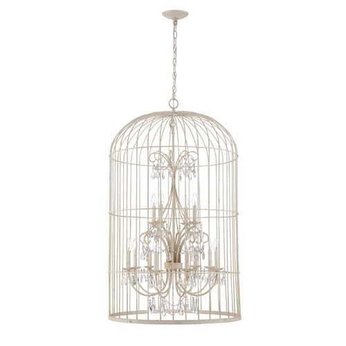 Jeremiah Lighting Jeremiah Lighting Ivybridge French White Pendant Light 38412-FW