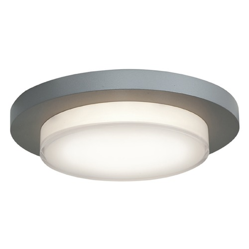 Access Lighting Access Lighting Link Satin Nickel LED Flushmount Light 20779LEDD-SAT/ACR