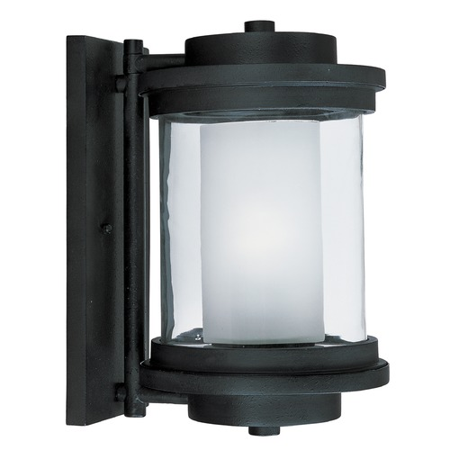 Maxim Lighting Maxim Lighting Lighthouse LED E26 Anthracite LED Outdoor Wall Light 65864CLFTAR