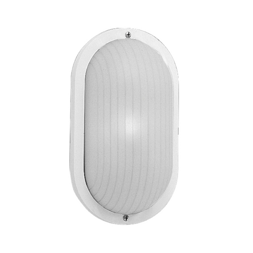 Progress Lighting Progress Outdoor Wall Light with White in White Finish P5704-30