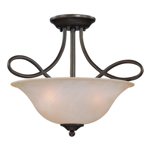 Jeremiah Lighting Jeremiah Cordova Old Bronze Semi-Flushmount Light 25033-OB