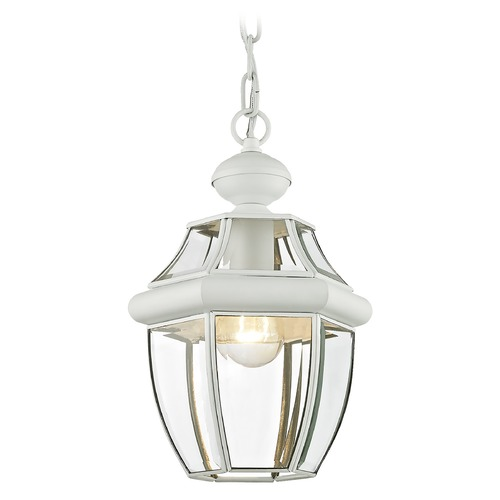 Livex Lighting Livex Lighting Monterey White Outdoor Hanging Light 2152-03