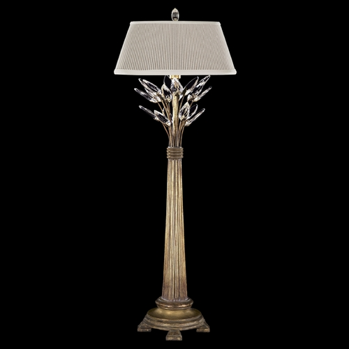 Fine Art Lamps Fine Art Lamps Crystal Laurel Gold Leaf Console & Buffet Lamp with Empire Shade 775615ST