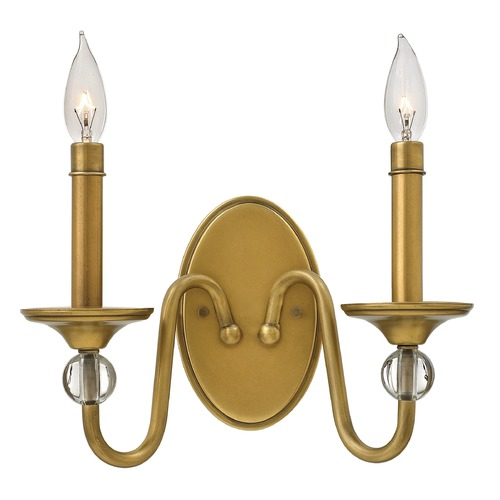 Hinkley Lighting Hinkley Lighting Eleanor Heritage Brass Sconce 4952HB