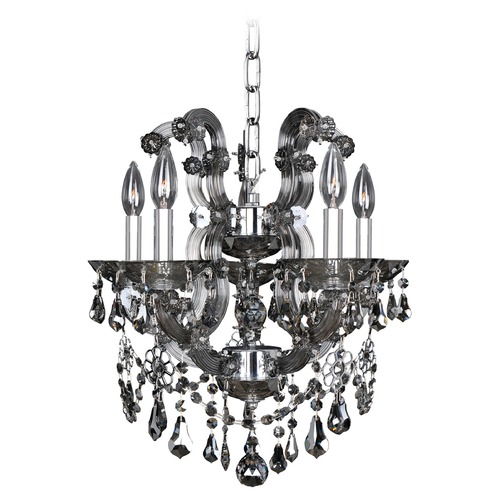 Allegri Lighting Brahms 5 Light Chandelier 023453-010-FR006