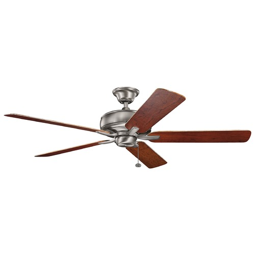 Kichler Lighting Kichler Lighting Terra Burnished Antique Pewter Ceiling Fan Without Light 330249BAP